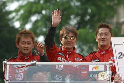Ryo Fukuda, Hiroki Katoh and Ryo Michigami