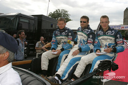 Emmanuel Collard, Nicolas Minassian and Sébastien Bourdais