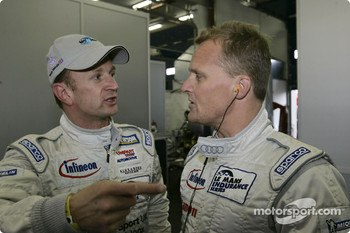 Allan McNish and Johnny Herbert