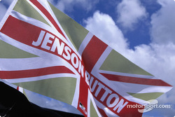 Jenson Button's flag
