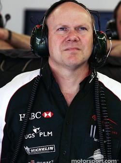 Jaguar Racing head of engineering Ian Pocock