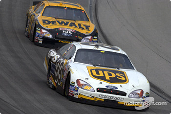 Dale Jarrett and Matt Kenseth