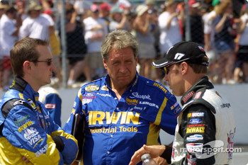 Kurt Busch, Jim Fenning and Matt Kenseth