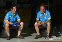 Renault F1 team members