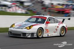 #79 J-3 Racing Porsche 911 GT3 RS: Tim Sugden, Justin Jackson