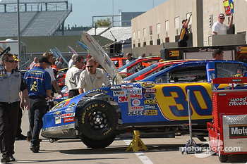 The #30 AOL Chevy