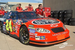 Jeff Gordon's #24 DuPont Chevy