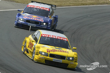 Tom Kristensen and Martin Tomczyk