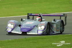 #88 Audi Sport UK Team Veloqx: Jamie Davies, Johnny Herbert