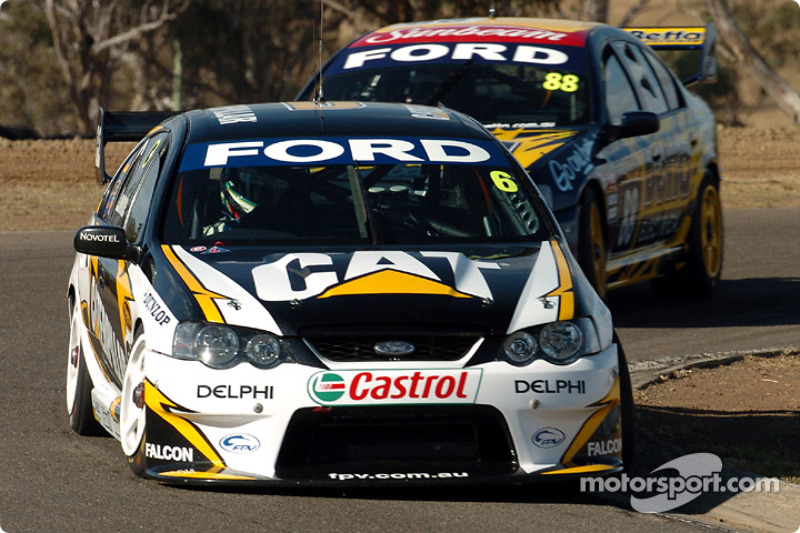 Craig Lowndes and Max Wilson