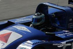 #30 Intersport Racing Lola Judd: Clint Field , Robin Liddell, Milka Duno