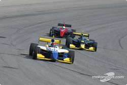 Paul Dana leads Al Unser and Jesse Mason
