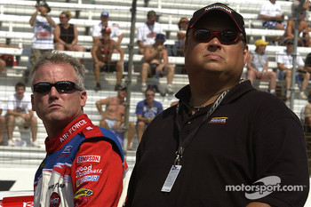 Ricky Rudd and crew chief Michael McSwain