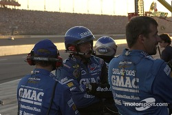 Brian Vickers team gives the #25 four tires and gas