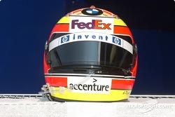 Helmet of Antonio Pizzonia