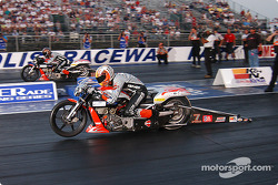 K&N Pro Bike Klash final: Andrew Hines and GT Tonglet
