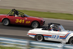 123 Datsun 2000 and 341 MGB