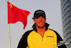 Jordan third driver Robert Doornbos