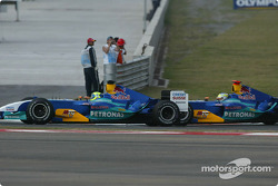 Felipe Massa and Giancarlo Fisichella
