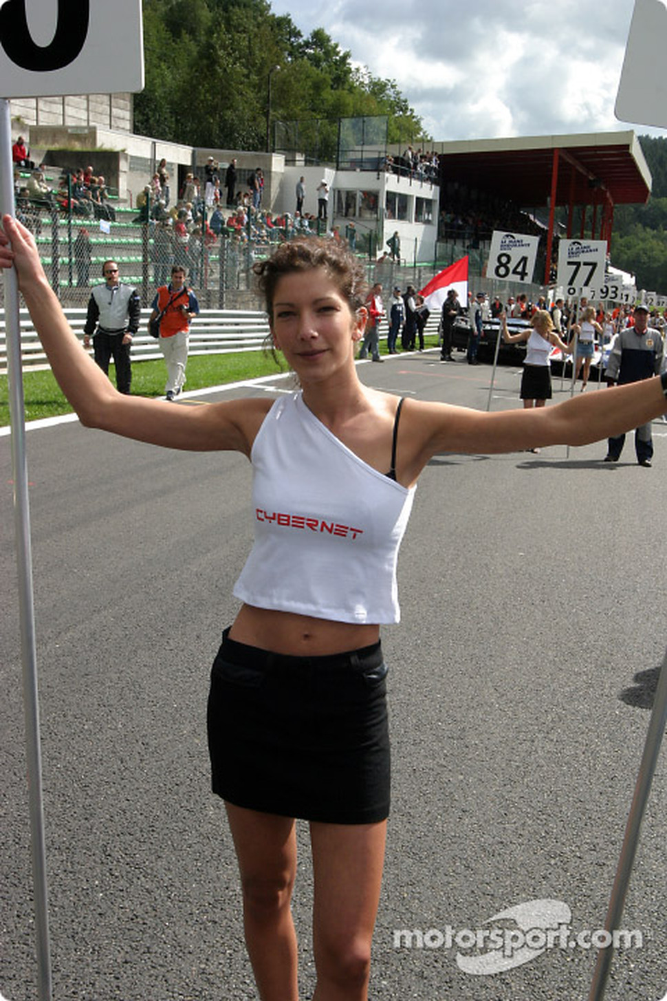 Another lovely grid girl