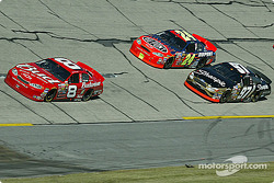 Dale Earnhardt Jr., Jeff Gordon and Kurt Busch