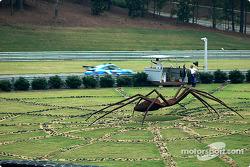 The spider at Barber Motorsports Park