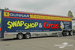 Gunnar Racing transporter