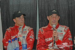 Press conference: Scott Pruett and Max Papis