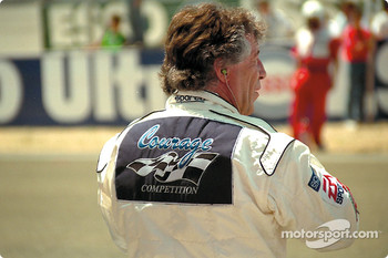Mario Andretti awaits the start
