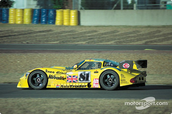#81 Team Marcos Marcos LM600: Cor Euser, Thomas Erdos, Pascal Dro