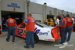Line at technical inspection