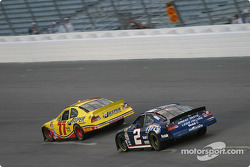 Brendan Gaughan and Rusty Wallace