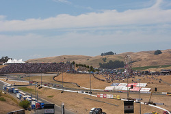 View of the Esses at Infineon Raceway