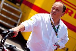 Frederic Vasseur, ART Grand Prix Director del equipol