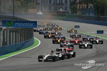 Start of 2010 Valencia SC race