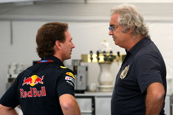 Christian Horner, Red Bull Racing, Sporting Director, Flavio Briatore