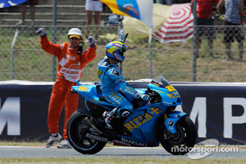 Alvaro Bautista, Rizla Suzuki MotoGP finishes 5th