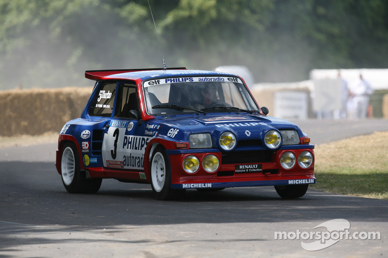 1985 renault 5 maxi turbo jean ragnotti at goodwood festival of speed. Black Bedroom Furniture Sets. Home Design Ideas