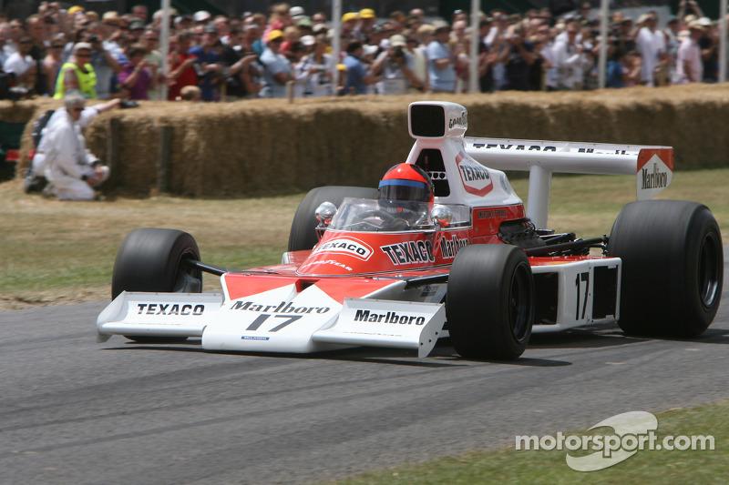 1973 McLaren Cosworth M23 (Emerson Fittipaldi): Emerson Fittipaldi