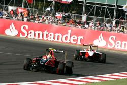 Rio Haryanto leads Esteban Gutierrez