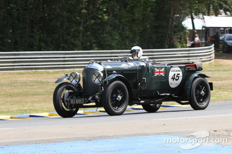 #45 Bentley 4,5L Le Mans 1928: Lars Rolner, Andreas Rolner, Pedro Fernandez