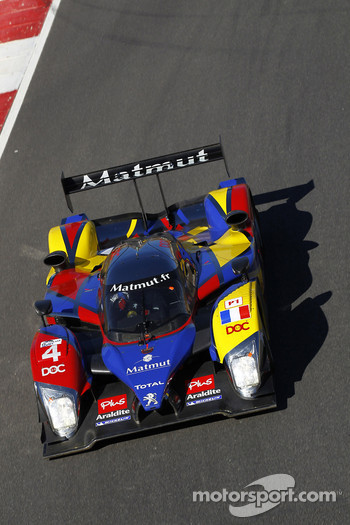 #4 Team Oreca Matmut Peugeot 908 HDi FAP: Oliver Panis, Nicolas Lapierre, Stphane Sarrazin