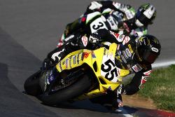 #55 Vesrah Suzuki - Suzuki GSX-R600: Chris Fillmore