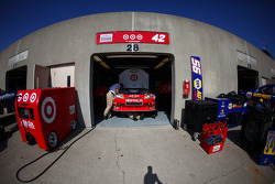 Earnhardt Ganassi Racing Chevrolet garage area