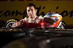 Daniel Morad winner of race 8 in the GP3 series at Silverstone