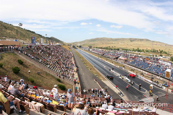 View of Bandimere Speedway, Morrison, Colorado