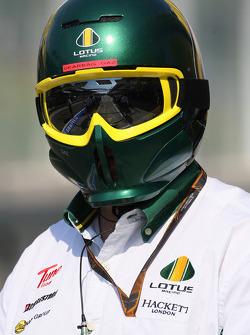 Lotus F1 Team mechanic
