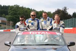 #17 IMSA Performance Matmut Porsche 911 GT3 RS GT2: Christophe Bourret, Pascal Gibon, Jean-Philippe Belloc, Richard Balandras