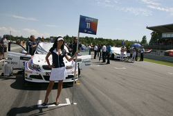Andy Priaulx BMW Team RBM BMW 320si and Augusto Farfus BMW Team RBM BMW 320si