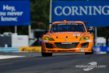 #68 SpeedSource Mazda RX-8: Adam Christodoulou, John Edwards